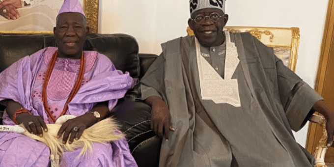 Tinubu will make a Good President - Olubadan