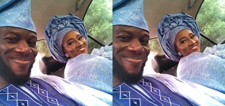 Nigerian man marries his lover seven years after he begged her to accept his friend request on Facebook