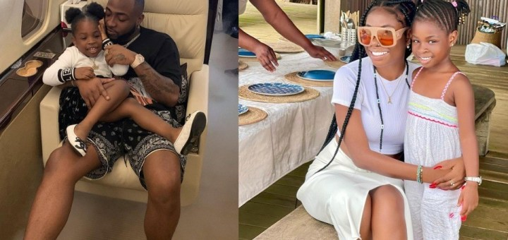 Davido's first babymama, Sophia Momodu reveals she cried because her daughter couldn't have her last name