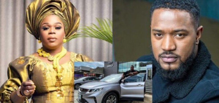 Crossdresser Michelle Page calls out actor Mofe Duncan over alleged car debt; He reacts