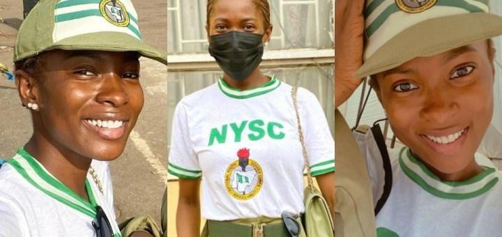 Actress Jemima Osunde shares photos in NYSC uniform as she begins service
