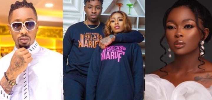 """""""One accent in this BBNaija reunion reminds me of someone I know"""" - BBNaija star Ike throws shade"""