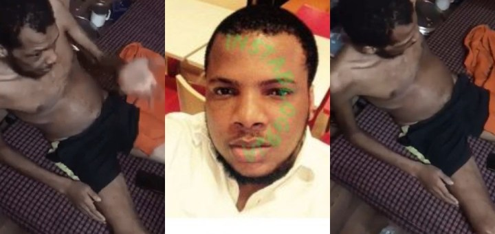 Nigerian man dies after allegedly being held captive and starved for 8 months by his landlord over non-payment of rent in India (Videos)