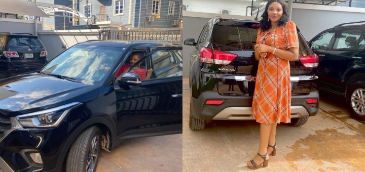 """""""I have never heard 'submission' from my husband"""" - Nigerian Wife reacts to people saying her husband gifted her a brand new car because she is a """"submissive wife"""""""