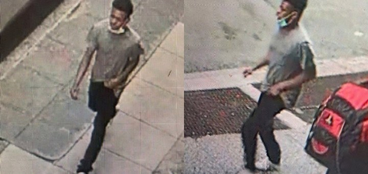 Police hunt man caught on surveillance fleeing after Choking and trying to Rape a 27-year-old woman on a NYC Sidewalk (Video)