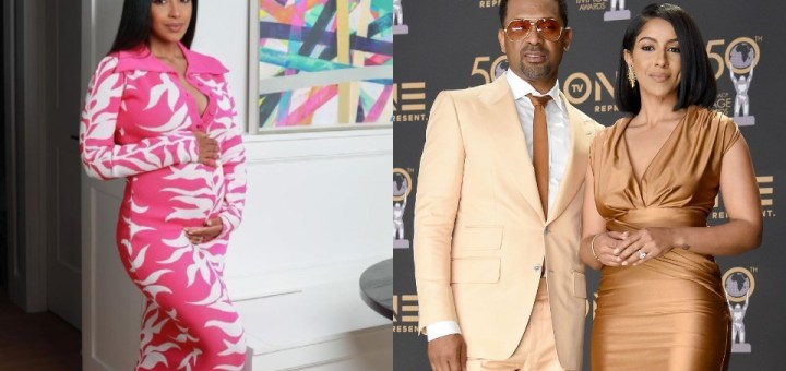 Comedian Mike Epps and wife Kyra Robinson expecting their Second Child, his Sixth