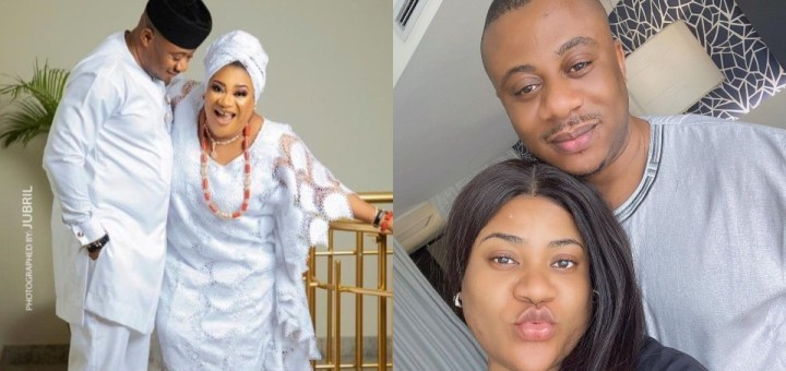 """""""Thank you for loving this stubborn girl unconditionally"""" - Actress, Nkechi Blessing celebrates husband on his Birthday"""