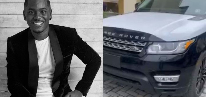 Actor, Timini Egbuson gifts himself a Range Rover for his 34th Birthday (Video)