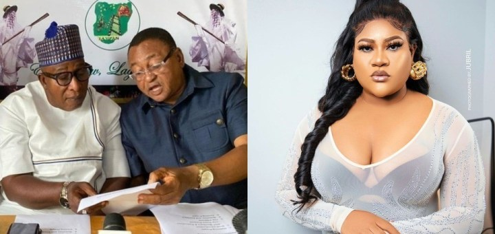 """Actress, Nkechi Blessing reacts after Jide Kosoko """"vowed to frustrate and work against her in the industry"""""""