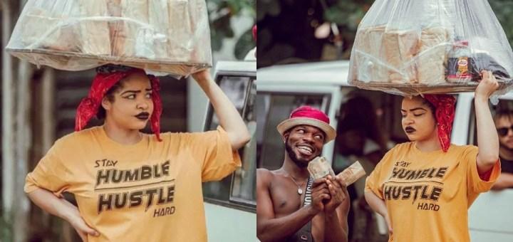 """Even as bread seller Nengi still fine"" - Fans react to new photos of BBNaija's Nengi"