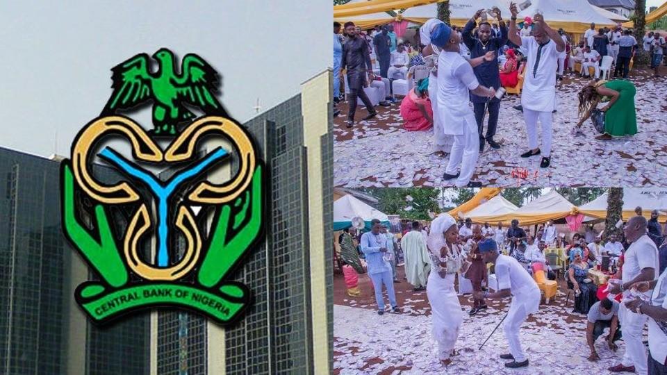 Spray Naira Notes and go to Jail - CBN tells Nigerians