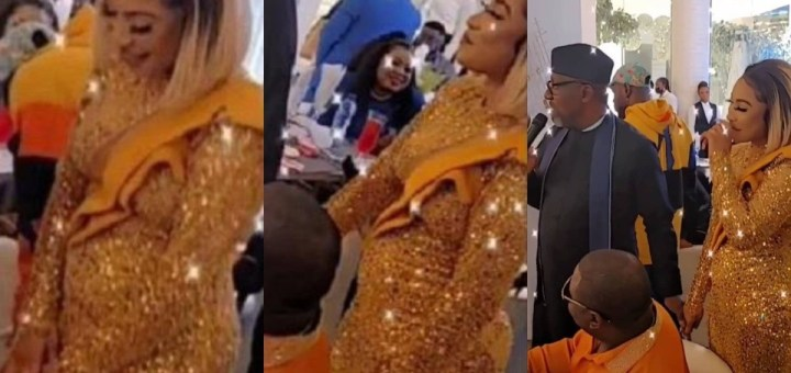 New Video of Tonto Dikeh sparks Pregnancy Rumours