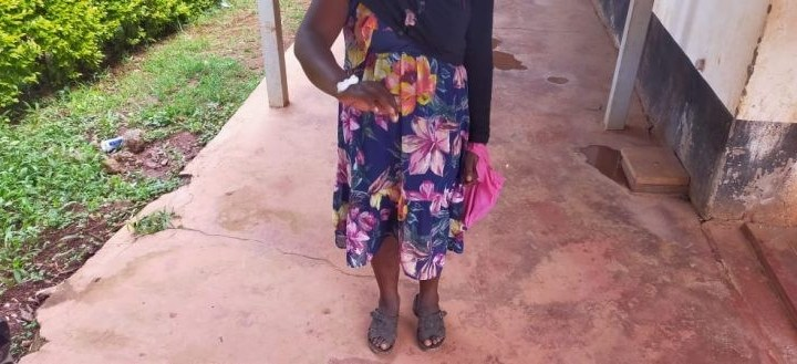 Lady in pain after she was Forcefully Circumcised by her husband of 12 years