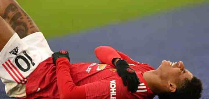 Manchester United forward, Marcus Rashford to undergo Shoulder Surgery and miss start of the Season