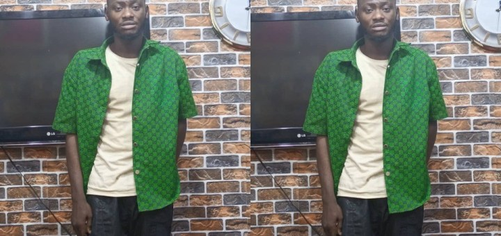 25-year-old man arrested for blackmailing and extorting N7 million from lady he threatened to release her nude photos (Photo)
