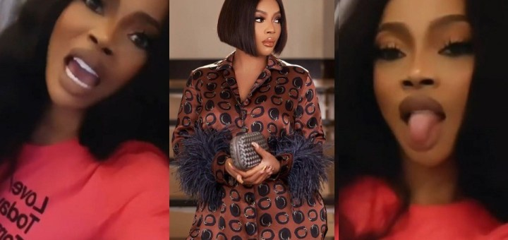 """""""Off that song. I reject it in Jesus name"""" - Toke Makinwa reacts to a song with lyrics """"Don't need a man that'll give you money"""""""