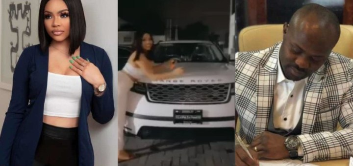 """Nengi's """"Sugar-Daddy"""" exposed after she revealed that she got a new Range Rover (Details)"""