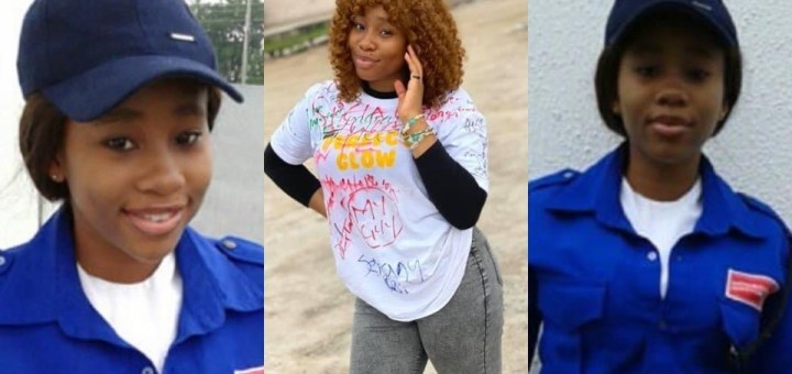 Beautiful graduate who worked as security officer while schooling gets mouthwatering job offer (Photos)