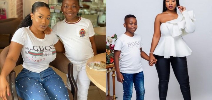 #BBNaija 2021: Adorable photos of new housemate, Jackie B and her son