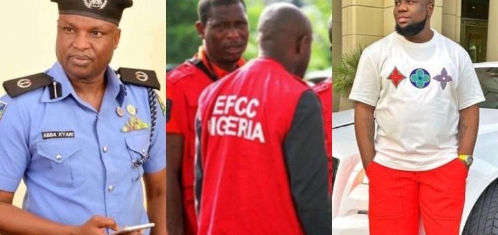 Hushpuppi: We've been contacted by the FBI to arrest Kyari - EFCC