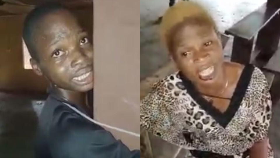Nigerian girl confesses that her mother reportedly gave her rat poison to put in her father's food (Video)