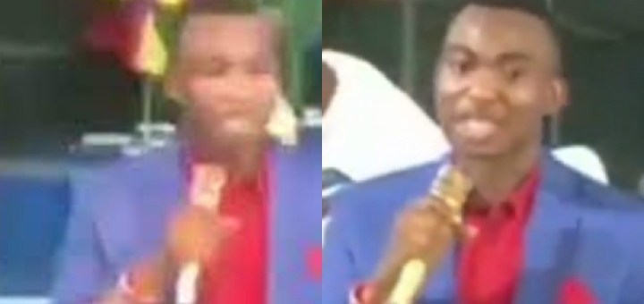 ''Nothing will happen to the person who refused to help you. Your curses will not work'' - Nigerian clergyman tells 'Lazy People' (Video)