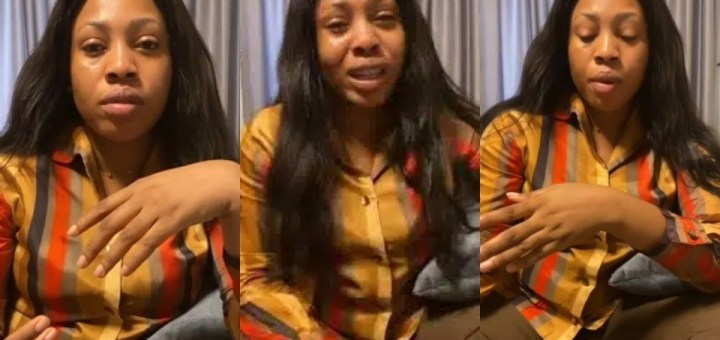 Lady recounts how she was allegedly abducted and almost killed by suspected kidnappers in Ikoyi (Video)