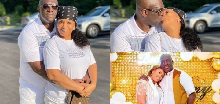 Sammie Okposo and wife celebrate 11th Wedding Anniversary