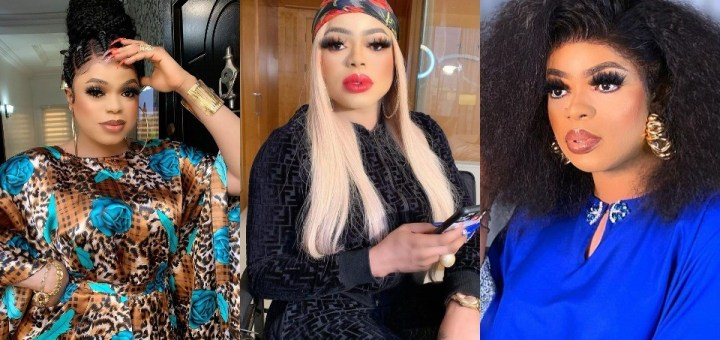 """""""I am too loose"""" - Bobrisky admits as he gushes over a young man in his DM"""