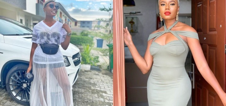 Hardworking Media Personality, Nancy Isime, acquires a new Benz whip