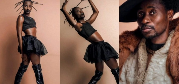 Gay Rights Activist, Bisi Alimi strips down in New Photos