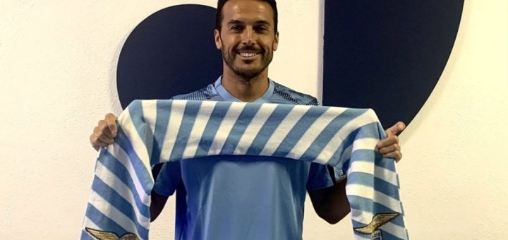 Ex-Chelsea attacker Pedro joins Lazio from Roma