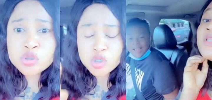 """""""If no man agrees to love you, use juju"""" - Nigerian lady advises women in front of her own man (Video)"""