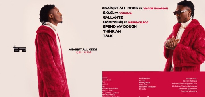 Music: Efe - Against All Odds (EP)
