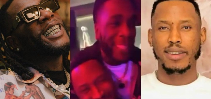 Four years after their public fight, singers Burnaboy and Mr. 2kay bury the hatchet. (Video)