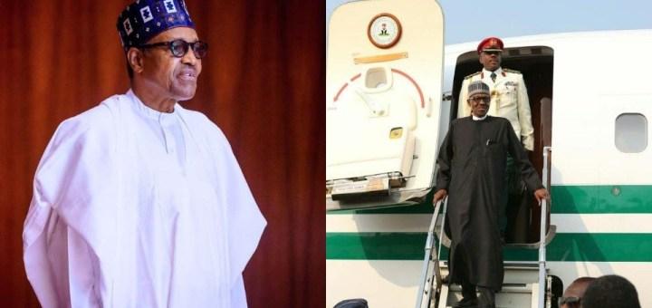 President Buhari lands in Nigeria