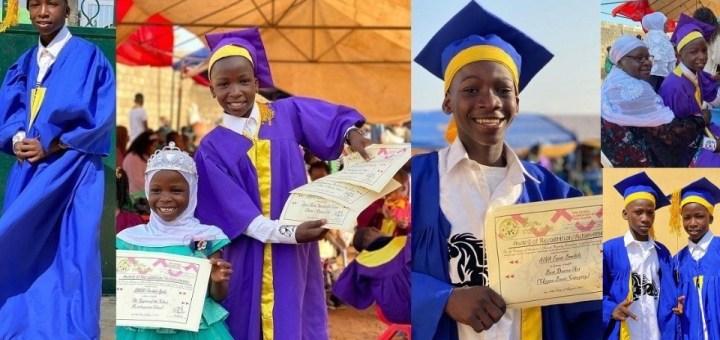 """Thank you for sponsoring our education"" - Ikorodu Bois appreciate Billionaire Femi Otedola on their graduation."