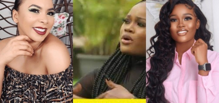 #BBNaija: Bad character should never be celebrated - Reality TV Star Tboss' sister Goldie tells Cee-C