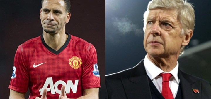 Manchester United Legend Rio Ferdinand reveals he wanted to join Arsenal but Arsene Wenger rejected the Transfer