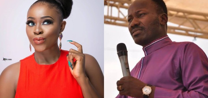 """""""I once slept with Apostle Suleman for money"""" - Actress Chioma Ifemeludike confesses (Video)"""