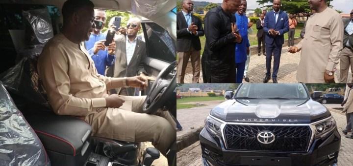 Church member gifts pastor a N55m Land Cruiser