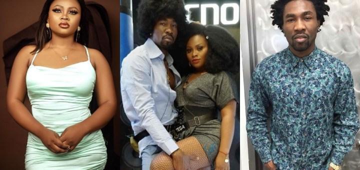 """#BBNaija 2021: """"I will marry Boma"""" - Tega says in 'kiss kill and marry' game (Video)"""