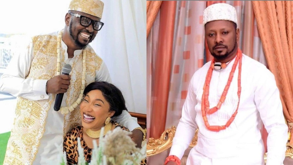 We dated for barely 3 months and it was a living hell. She cheated right from the start of our relationship - Tonto Dikeh's ex-lover, Kpokpogri blows hot