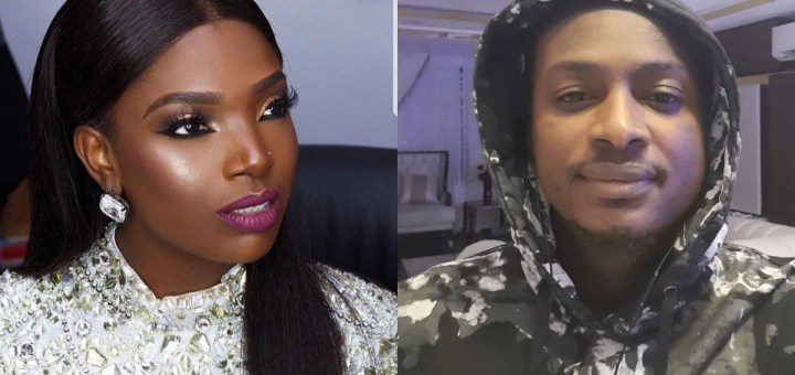 Annie Idibia replies her husband's brother, Charles