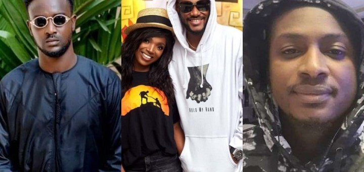"""""""That is the last thing I'll take from the Idibia's family""""- Annie's brother Wisdom slams 2baba's brother Charles for calling his mother 'evil names'"""