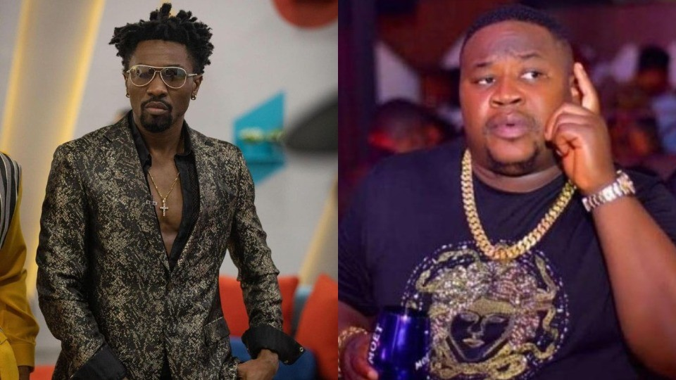 """#BBNaija 2021: """"Keep my name out of your mouth"""" - Boma knocks Cubana Chiefpriest over his comments on his relationship with Tega"""