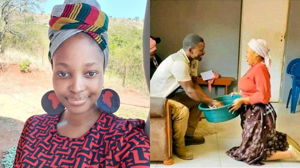 """""""I have no interest to move from our old ways""""- Lady reveals plans to serve her husband like a 'king'"""