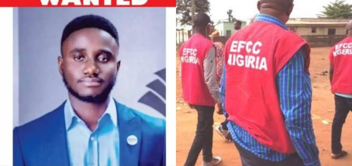 EFCC declares 24-year-old man, Wales Capital wanted over N935m Investment Scam