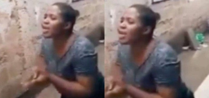 """""""You've been sleeping with me for 10 years, I won't leave"""" - Drama as husband tries to send wife parking (Video)"""