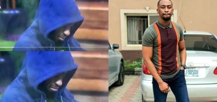 #BBNaija 2021: Saga breaks down in tears after Nini's disappearance (Video)